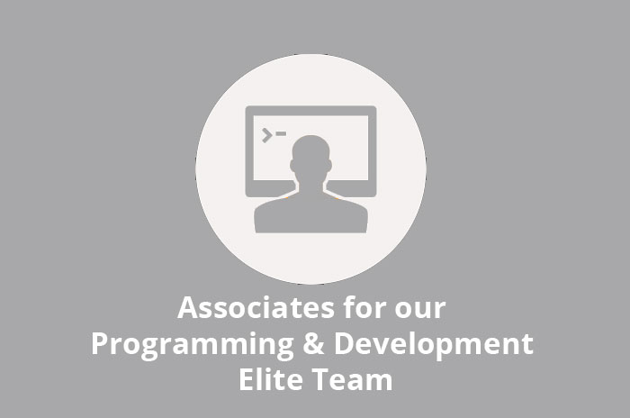 Jobs: Associates for our Programming & Development Elite Team