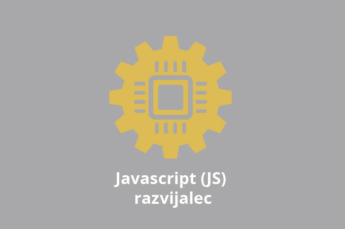 Iščemo: Javascript (JS) razvijalec