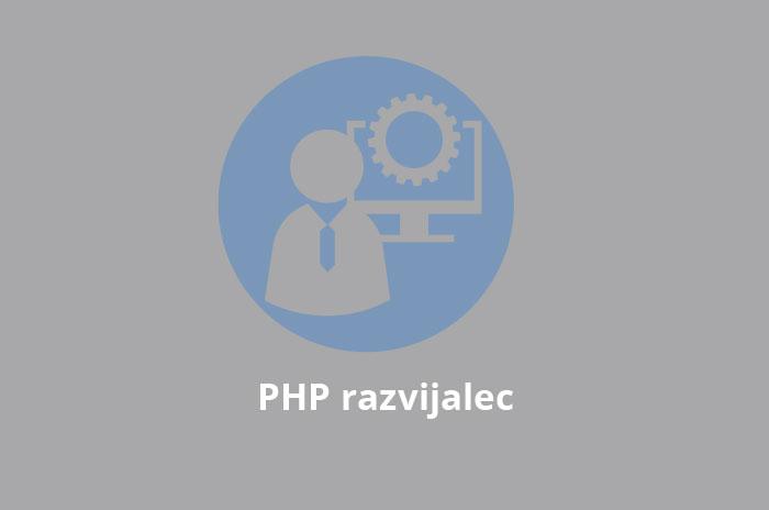 Iščemo: PHP razvijalec