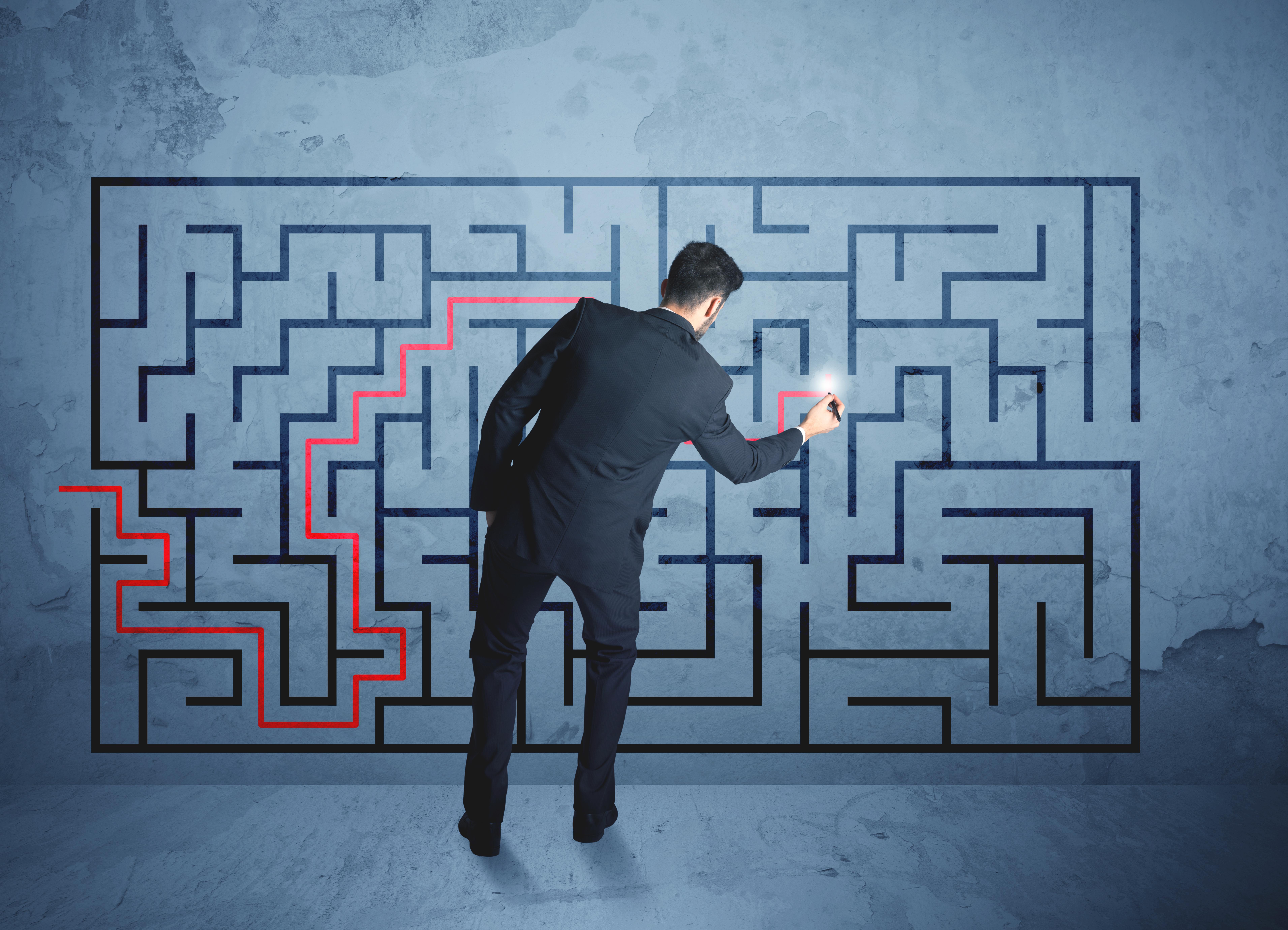 Poiščite pot iz labirinta podatkov!