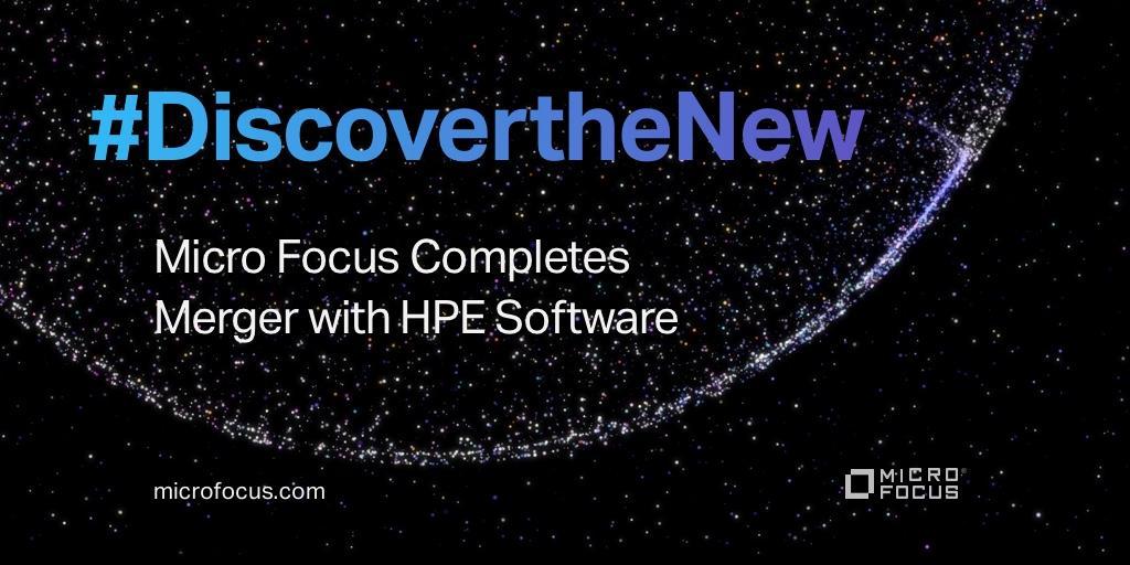 Micro Focus je dokončal združitev s HPE Software