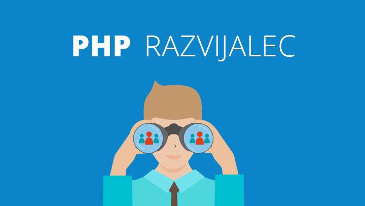 Zaposlimo PHP razvijalca