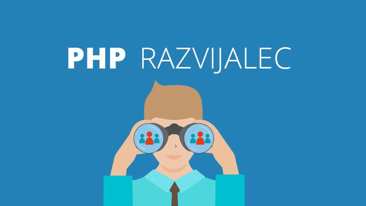 Si PHP razvijalec? Potem je tukaj tvoja priložnost!