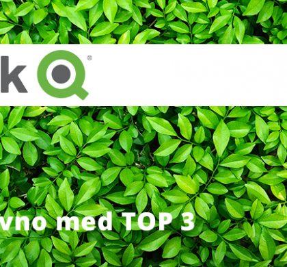 Qlik ponovno med TOP 3 ponudniki BI rešitev po Gartnerju