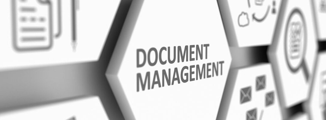 How to modernize the document management system to support future applications?